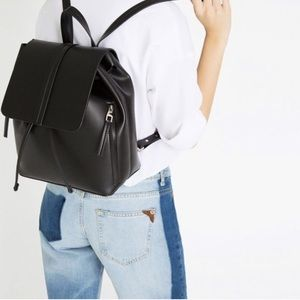 NWT Zara black backpack